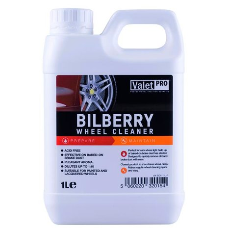 ValetPro Bilberry Safe Wheel Cleaner - čistič kol 1L