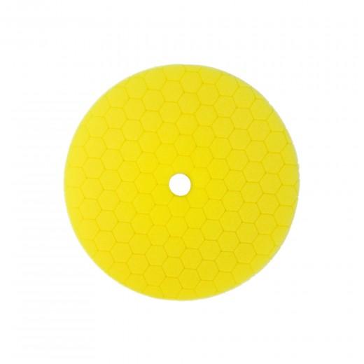 Carbon Collective HEX Machine Polishing Pad Yellow - středně silný leštící kotouč 150mm