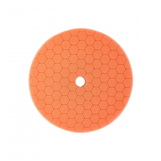 Carbon Collective HEX Machine Polishing Pad Orange - finální leštící kotouč 150mm