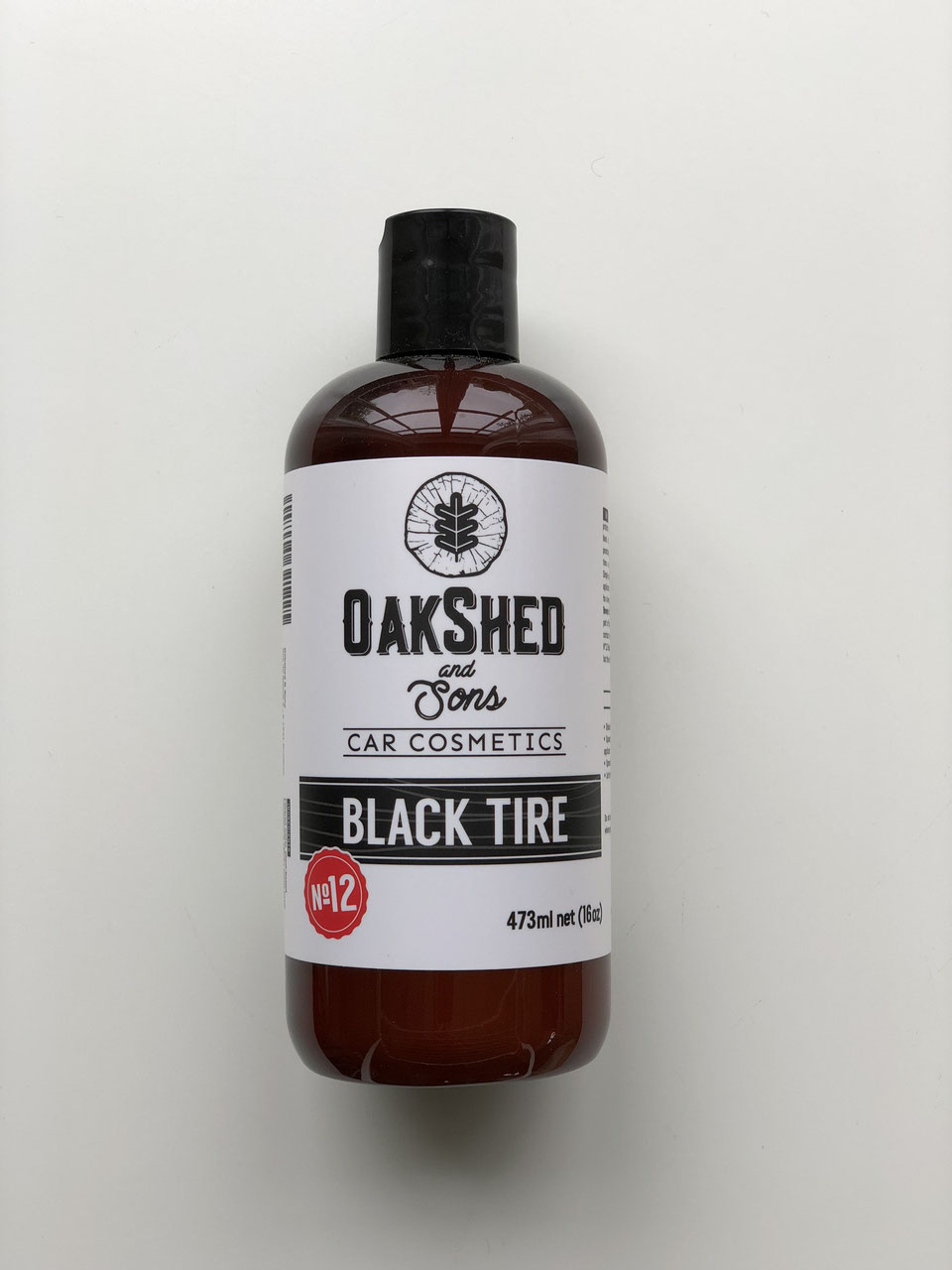 Oakshed and Sons N°12 Black Tire - impregnace pneumatik 473ml
