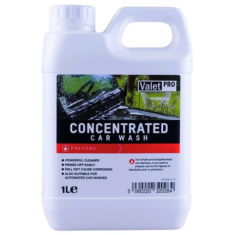 ValetPro Concentrated Car Wash - autošampon 1000ml