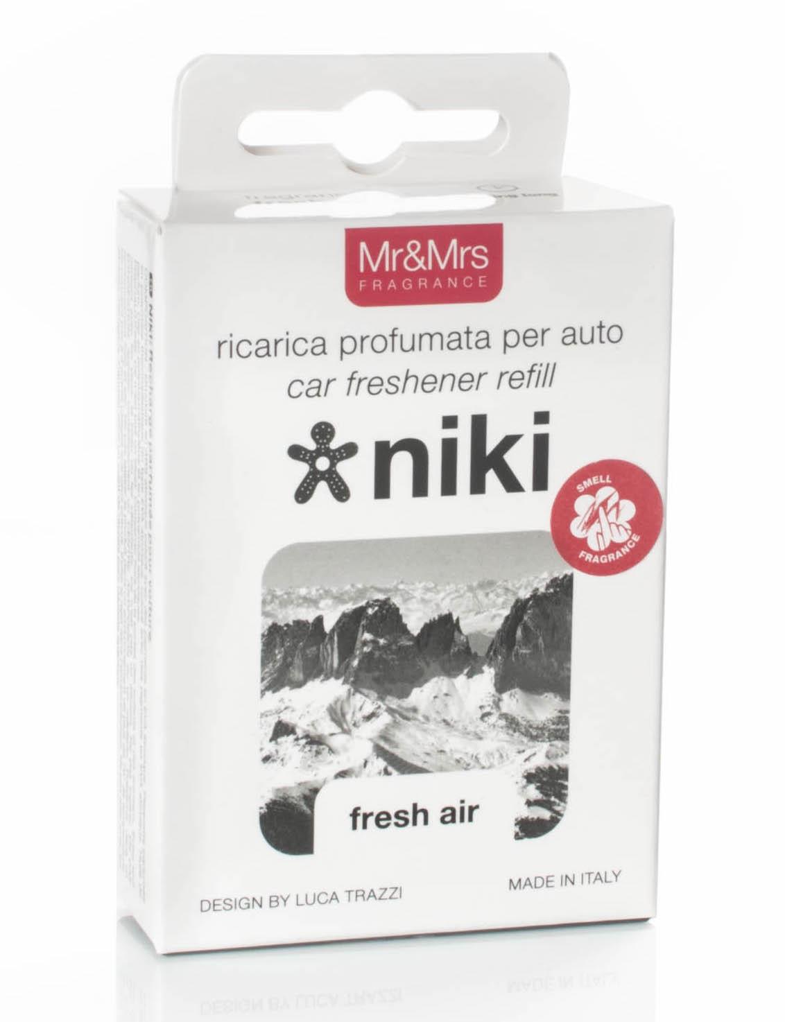 Mr&Mrs Fragrance - náhradní náplň Niki Fresh Air