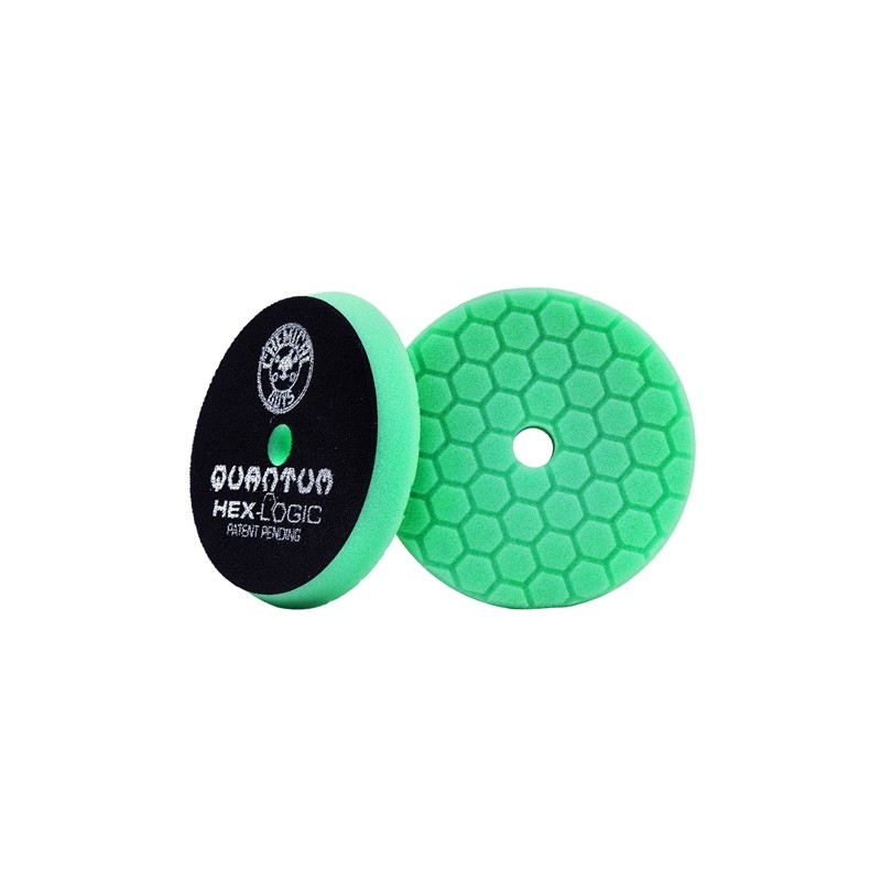 Chemical Guys Hex Logic Pad Green Heavy - tvrdší leštící kotouč 140mm