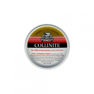 Collinite No.476s Super doubleCoat Auto Wax - tuhý karnaubský vosk 266ml
