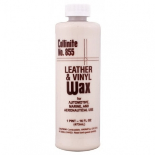 Collinite No.855 Leather and Vinyl Wax - výživa pro kůži - 473ml