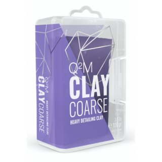 Gyeon Q2M Clay Coarse - tvrdý clay 100g