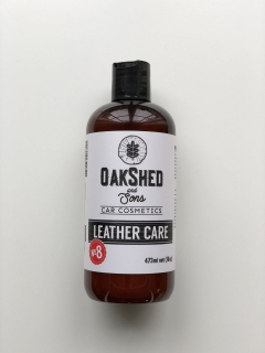 Oakshed and Sons N°8 Leather Care - ochrana a čistič kůže 473ml